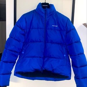 BALENCIAGA C-shaped Puffer Jacket